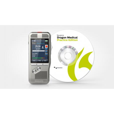Kit de dictado y reconocimiento de voz para Médicos DPMMED1