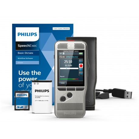 Digital Pocket Memo 7200